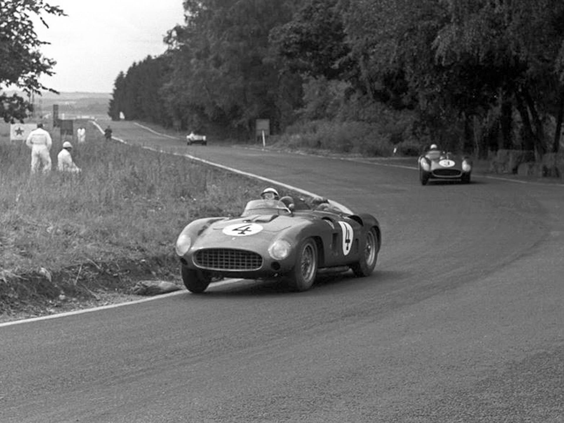 1956 Ferrari 290 MM race car