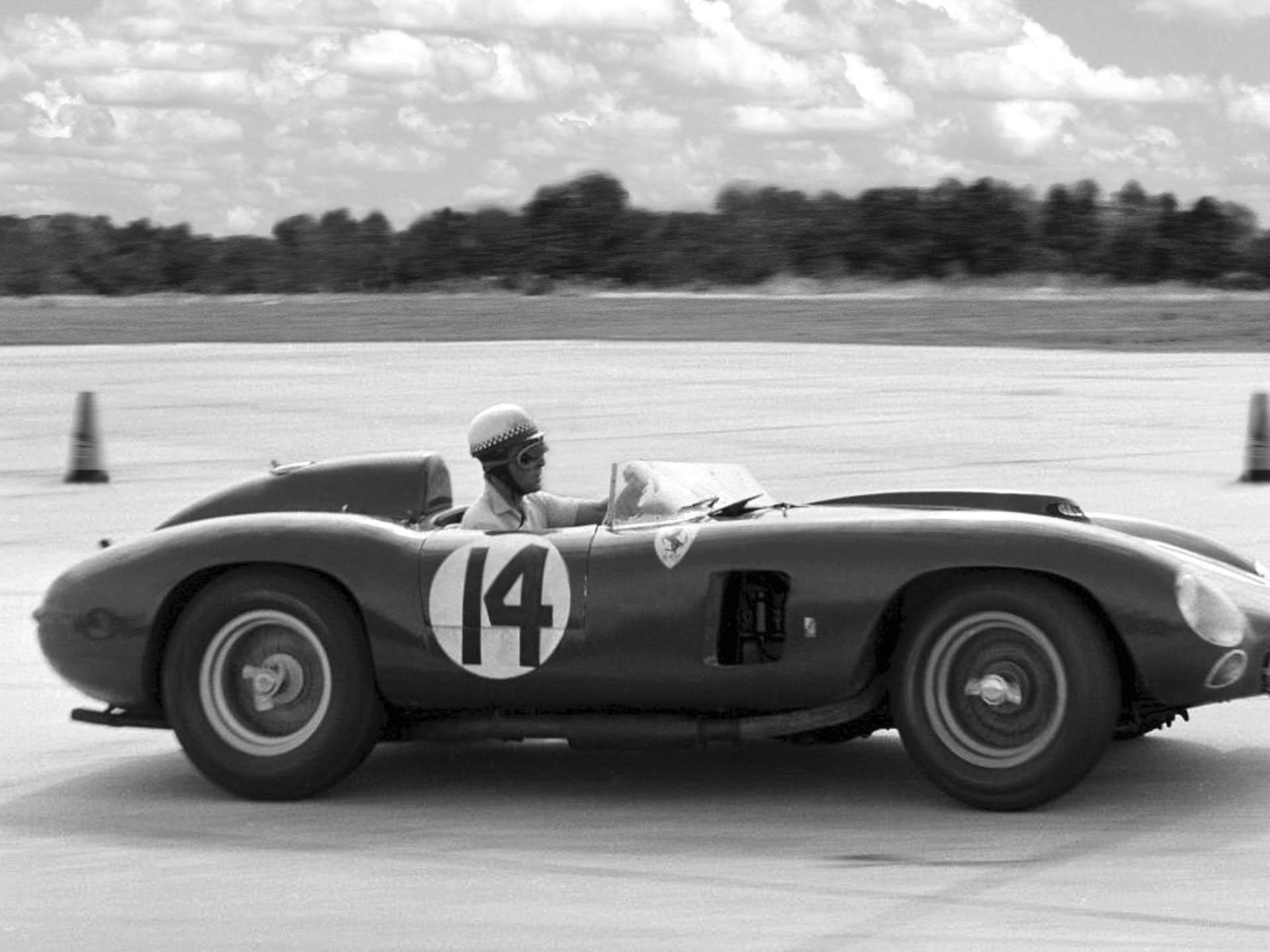 1956 Ferrari 290 MM by Scaglietti vintage profile photo