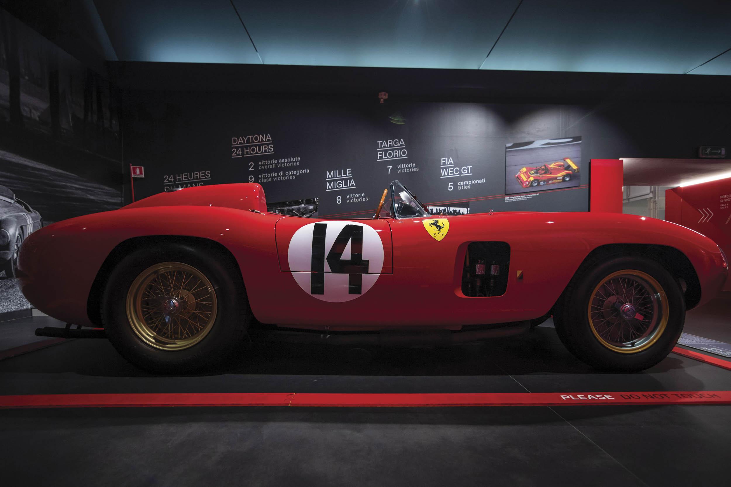 1956 Ferrari 290 MM by Scaglietti profile