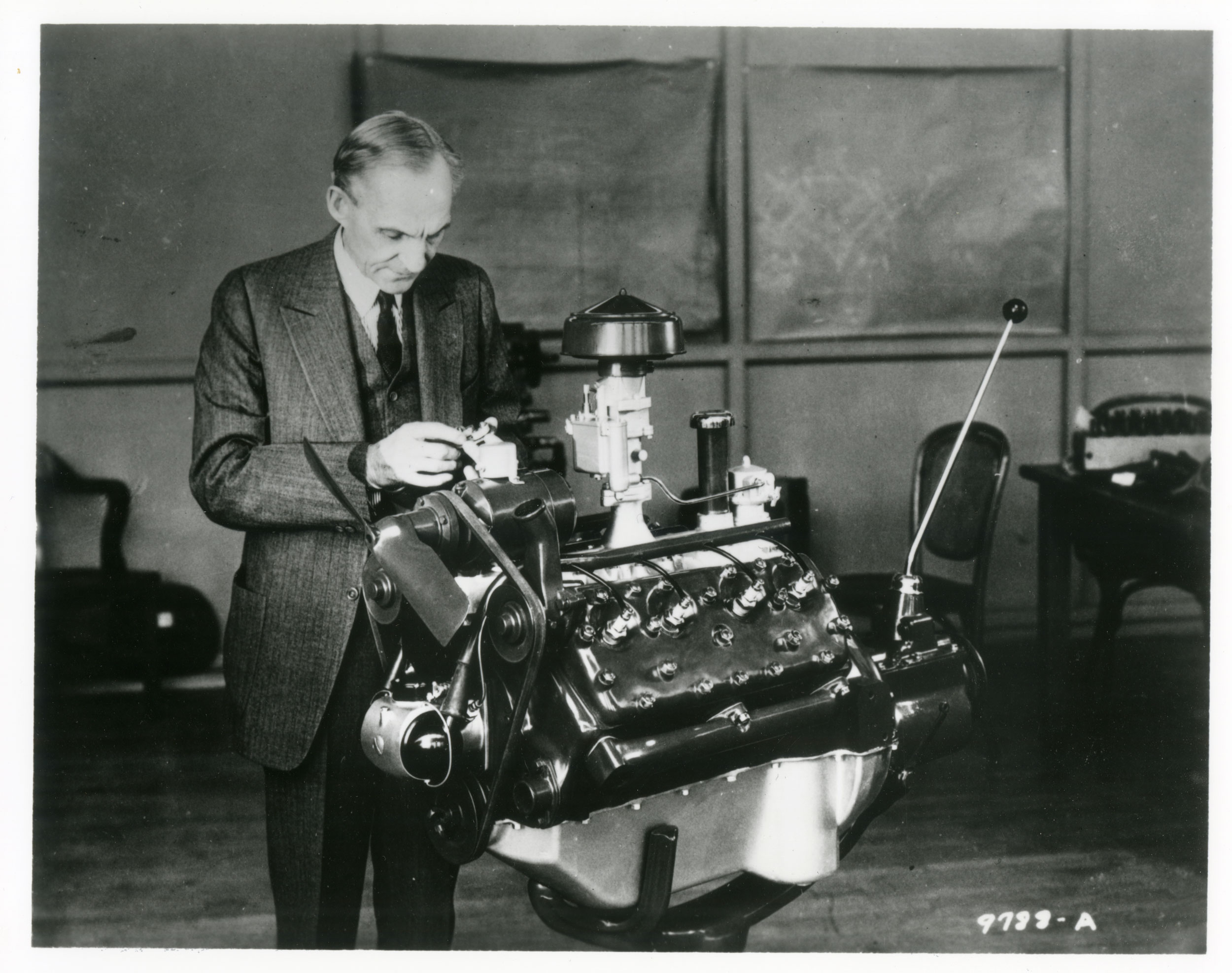 Henry Ford risked his entire enterprise to develop and produce a V-8 engine for mass produced cars. In the process, he made a legend that powered the hot rod movement.