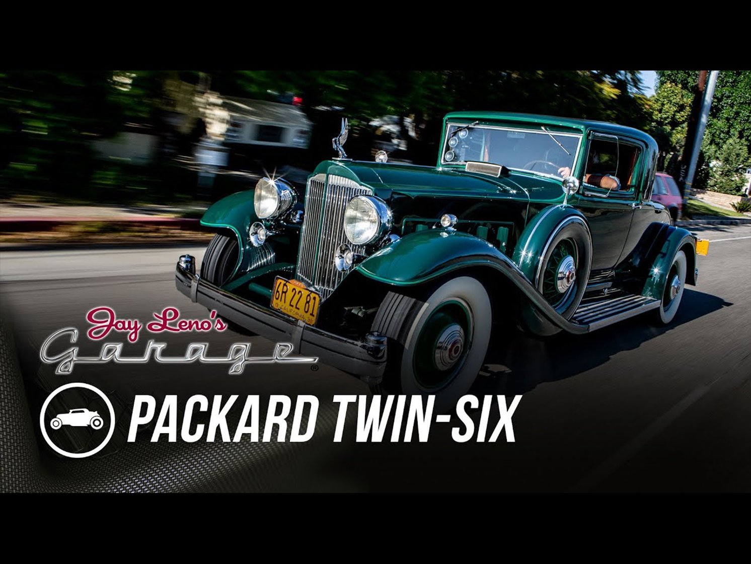 Gorgeously green Packard Twin Six steals the show on Jay Leno's Garage thumbnail