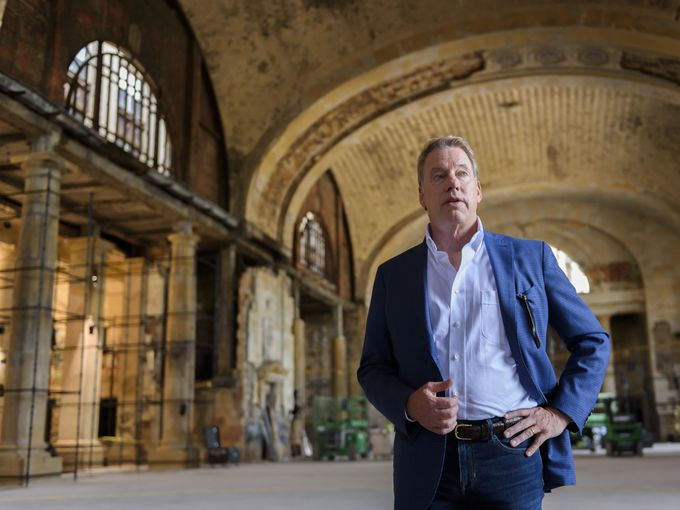 Henry Ford had been in business just 11 years when the Michigan Central Station was built. His great-grandson thinks it houses Ford's future.