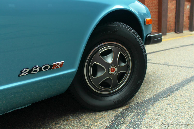 1976 Datsun 280Z wheels