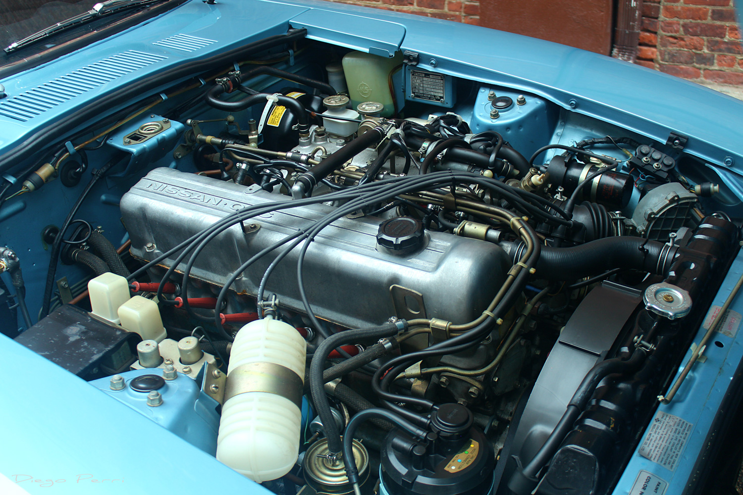 1976 Datsun 280Z engine