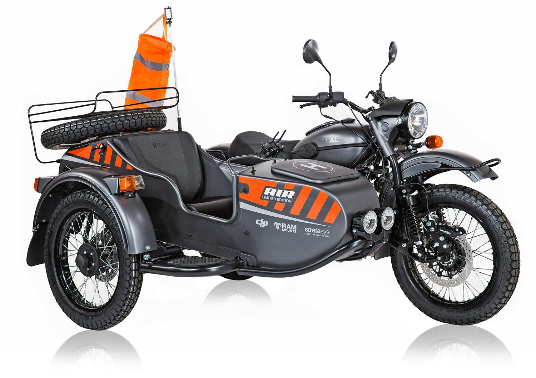 2019 Ural AIR sidecar front
