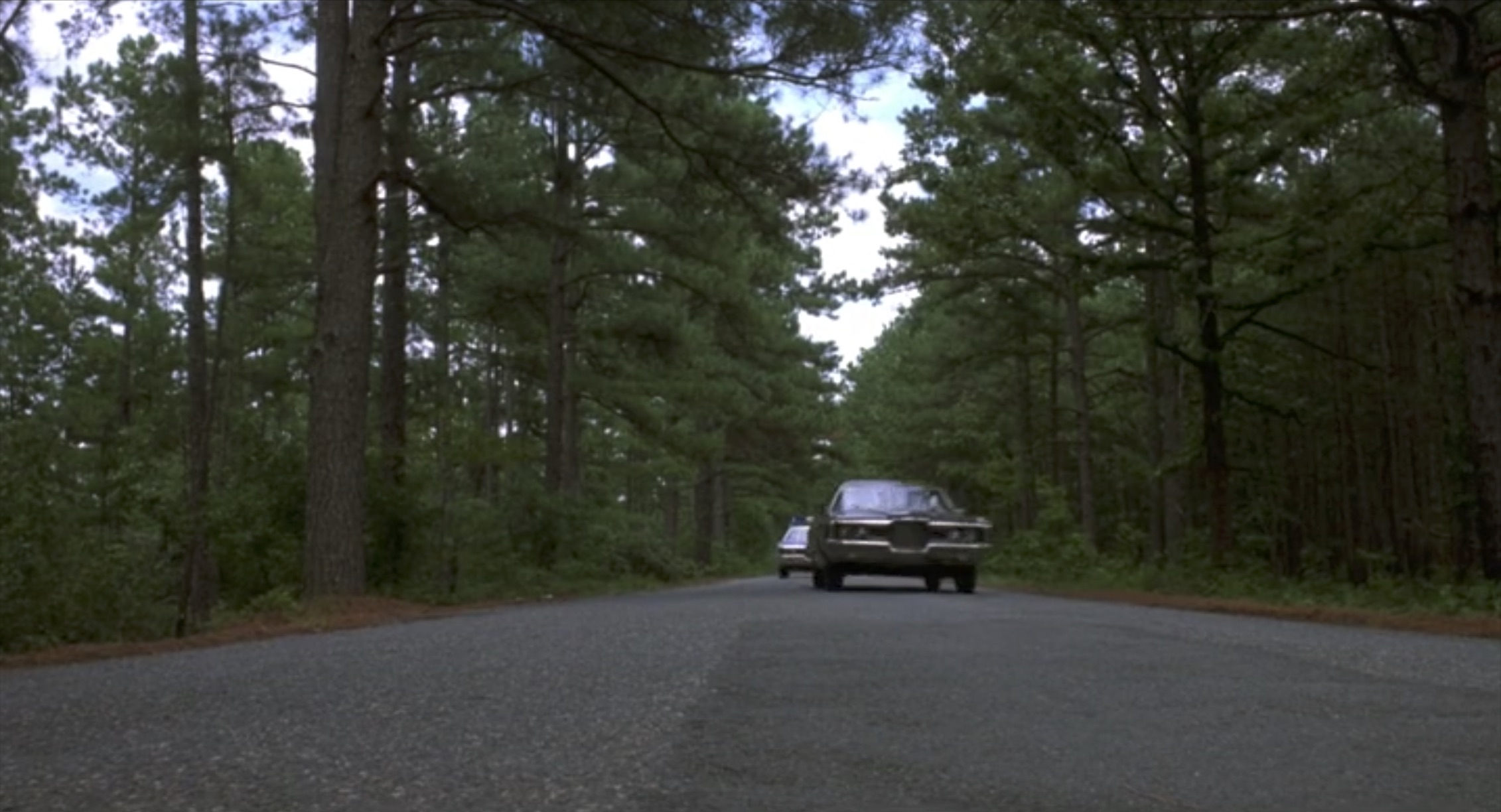 Burt Reynolds White Lightning chase in the woods