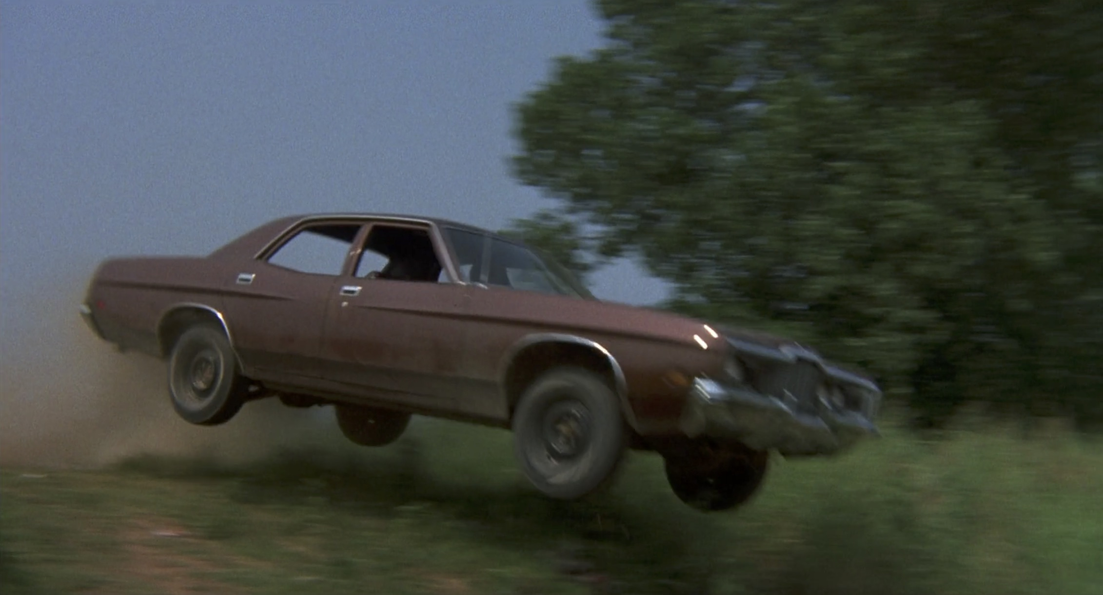 Burt Reynolds White Lightning brown ford jump