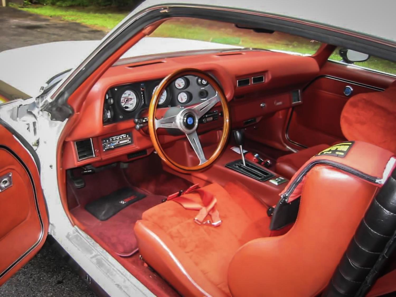 1975 Camaro Racemark GT interior
