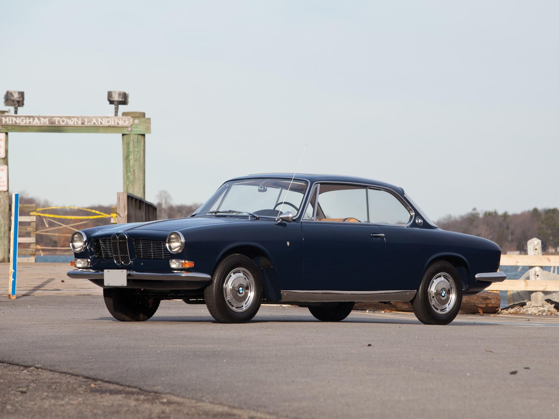 1963 BMW 3200 CS front 3/4