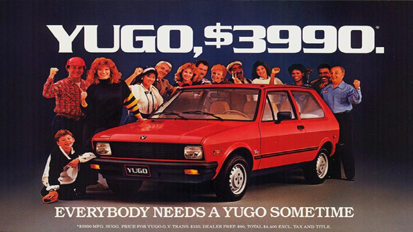 1988 Yugo advertisement