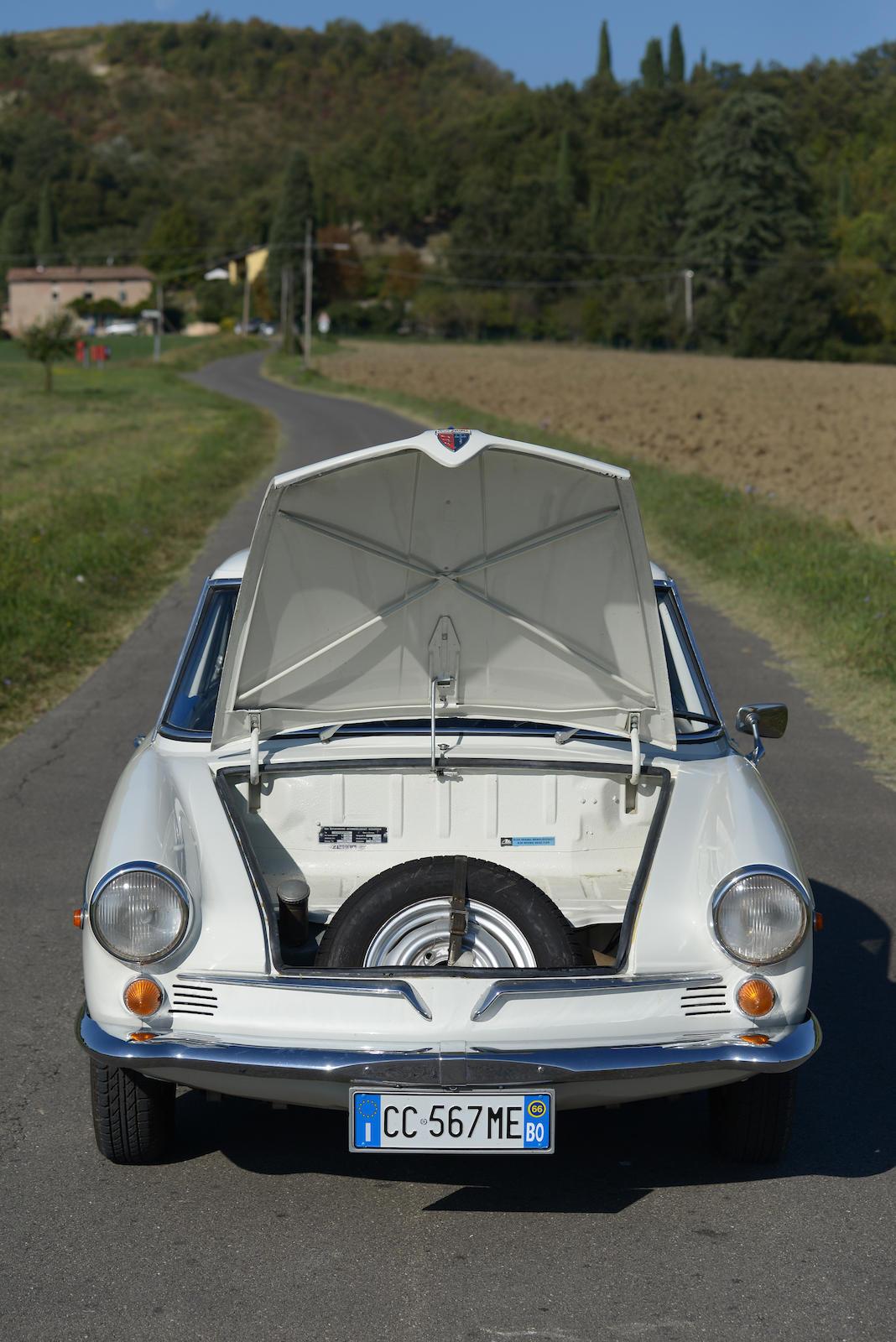 1966 NSU Sport Prinz Coupé front trunk