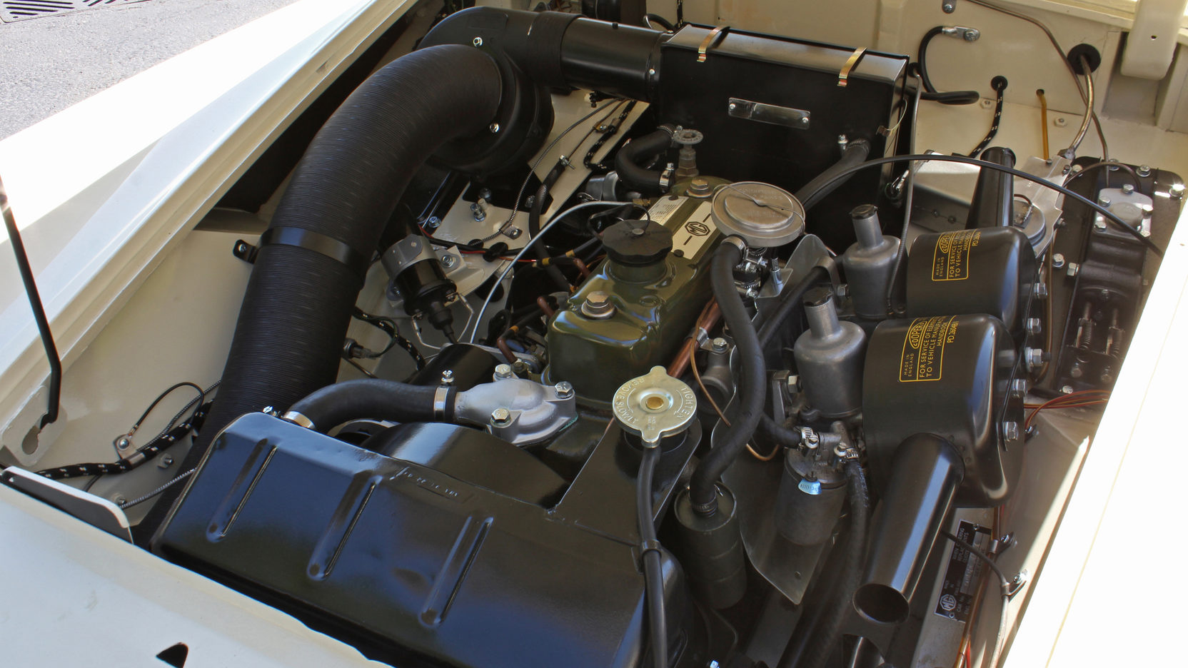 1965 MG Midget dual carb