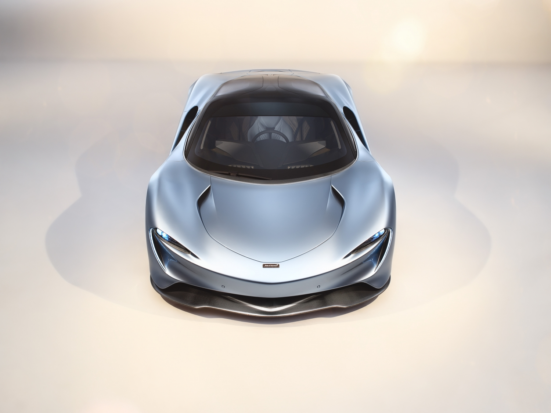 McLaren Speedtail front angle