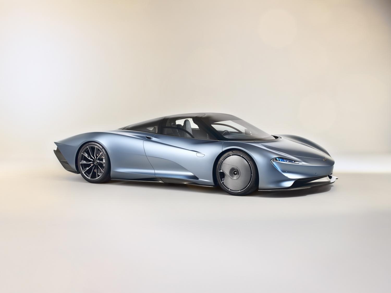 McLaren Speedtail front 3/4