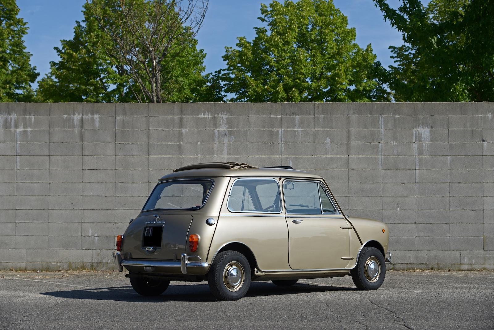 1965 Morris Mini Cooper S MkI rear 3/4