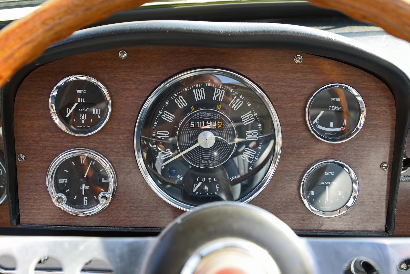 1965 Morris Mini Cooper S MkI guages