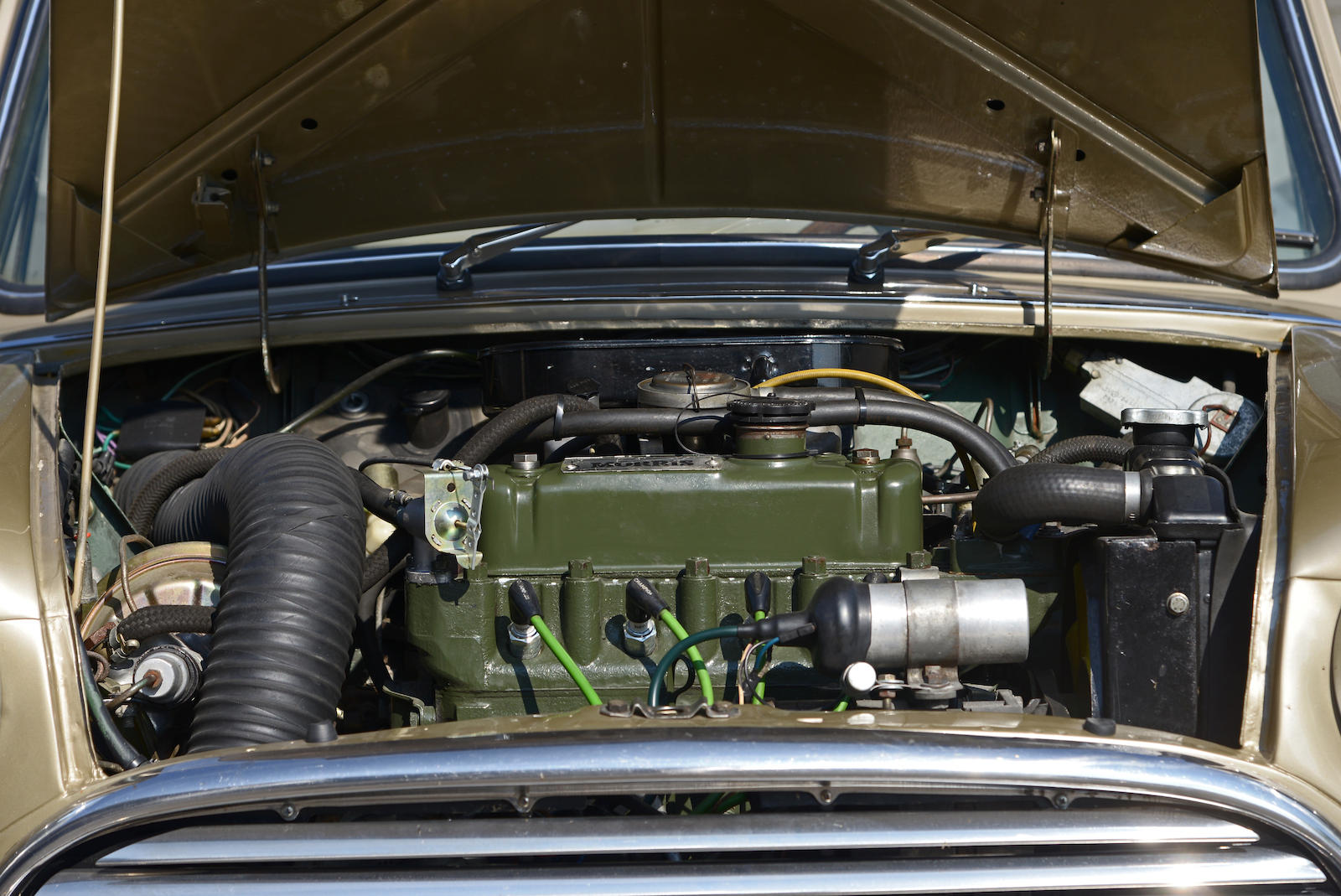 1965 Morris Mini Cooper S MkI engine front