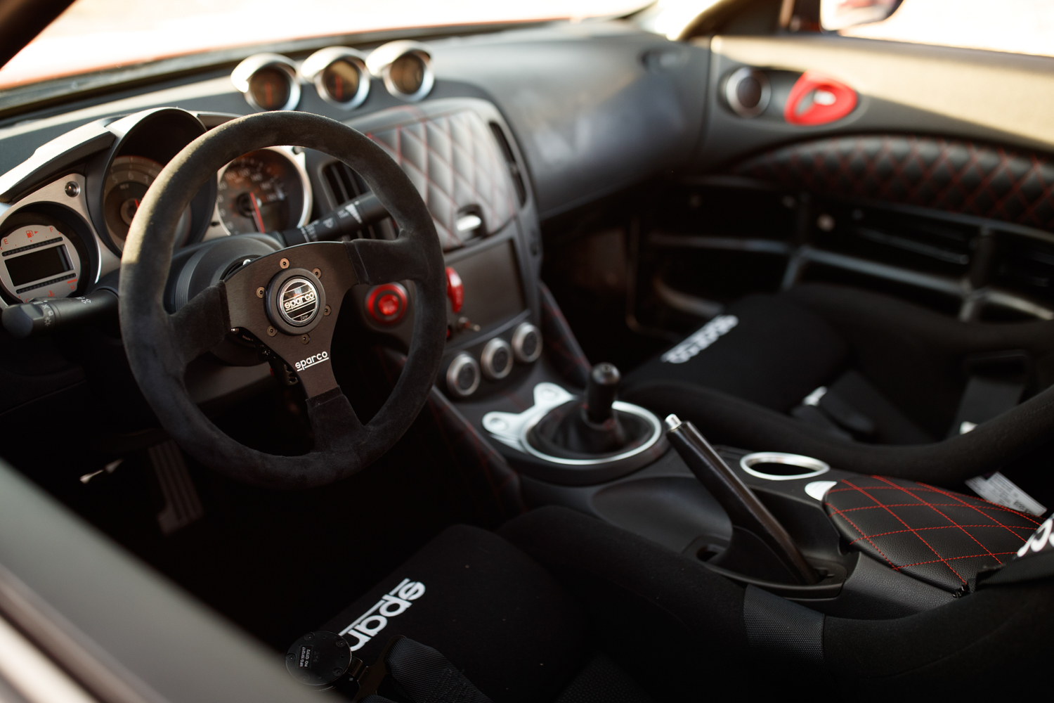 Nissan 370Z Project Clubsport 23 interior