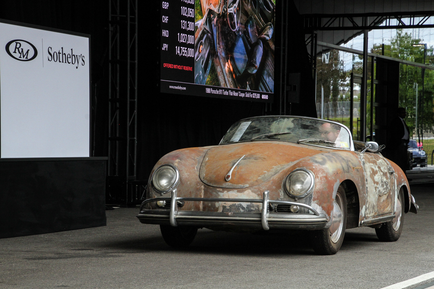 1958 Porsche 356 A 1600 Super Speedster barn find