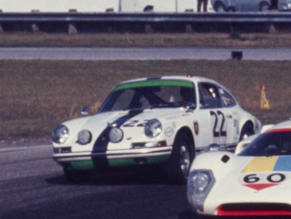 1969 Daytona 24-hours In Porsche of America livery