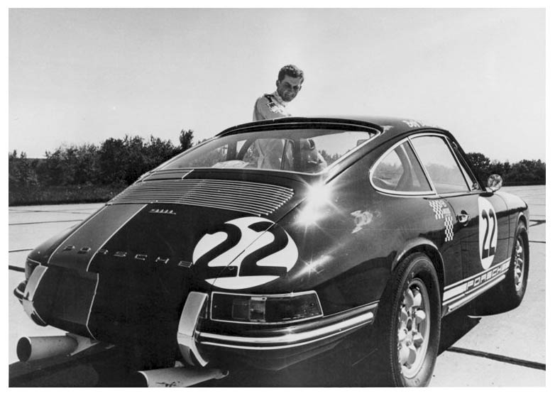 Baily and new 911L 1968