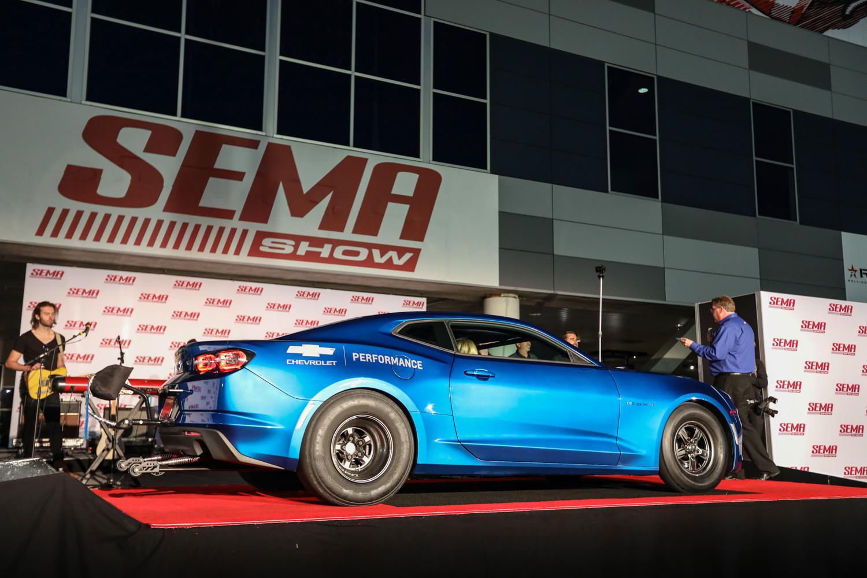 eCOPO Camaro concept stage rear