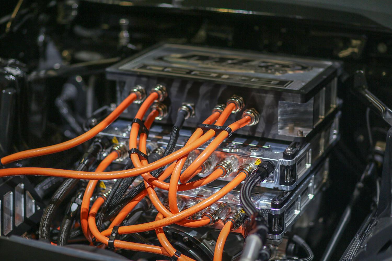 eCOPO Camaro concept motor controller