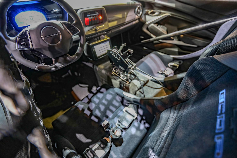 eCOPO Camaro concept interior