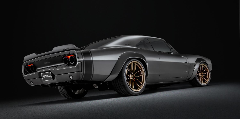 Dodge SRT Hellephant crate engine side rear low
