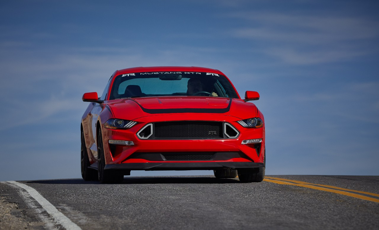 2019 Ford Mustang RTR front shot