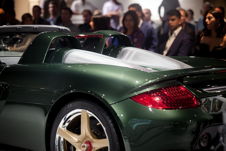 Porsche classic Carrera GT restoration rear deck