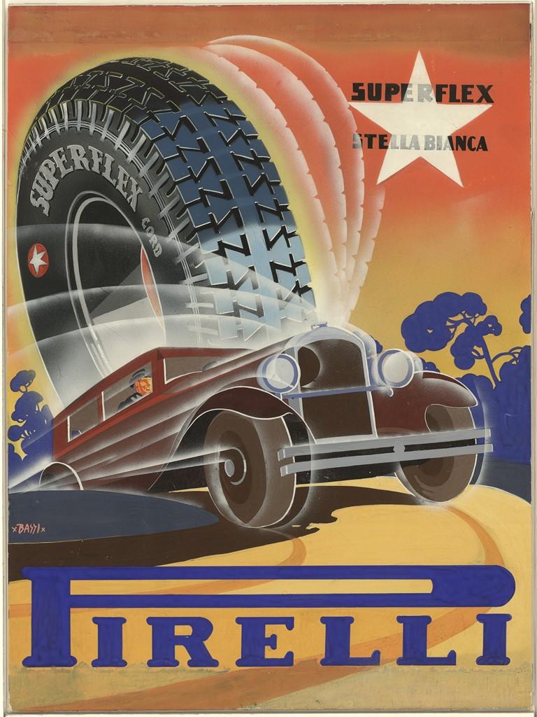 1931 Superflex Stella Bianca Pirelli Tire