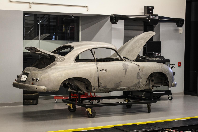 Porsche Classic Restoration 356 shell