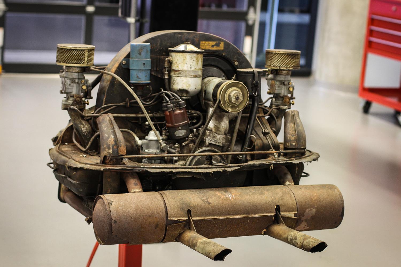 Porsche Classic Restoration 356 engine