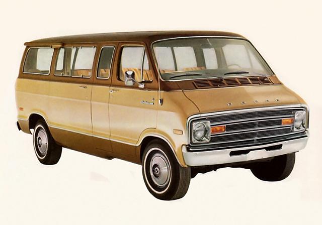 1974 Dodge Sportsman full size van