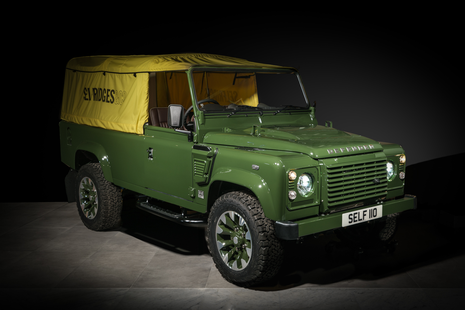 One-off Land Rover Defender will be seen by millions, driven by none thumbnail