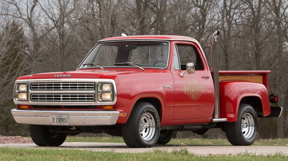 1979 Dodge Li'l Red Express front 3/4