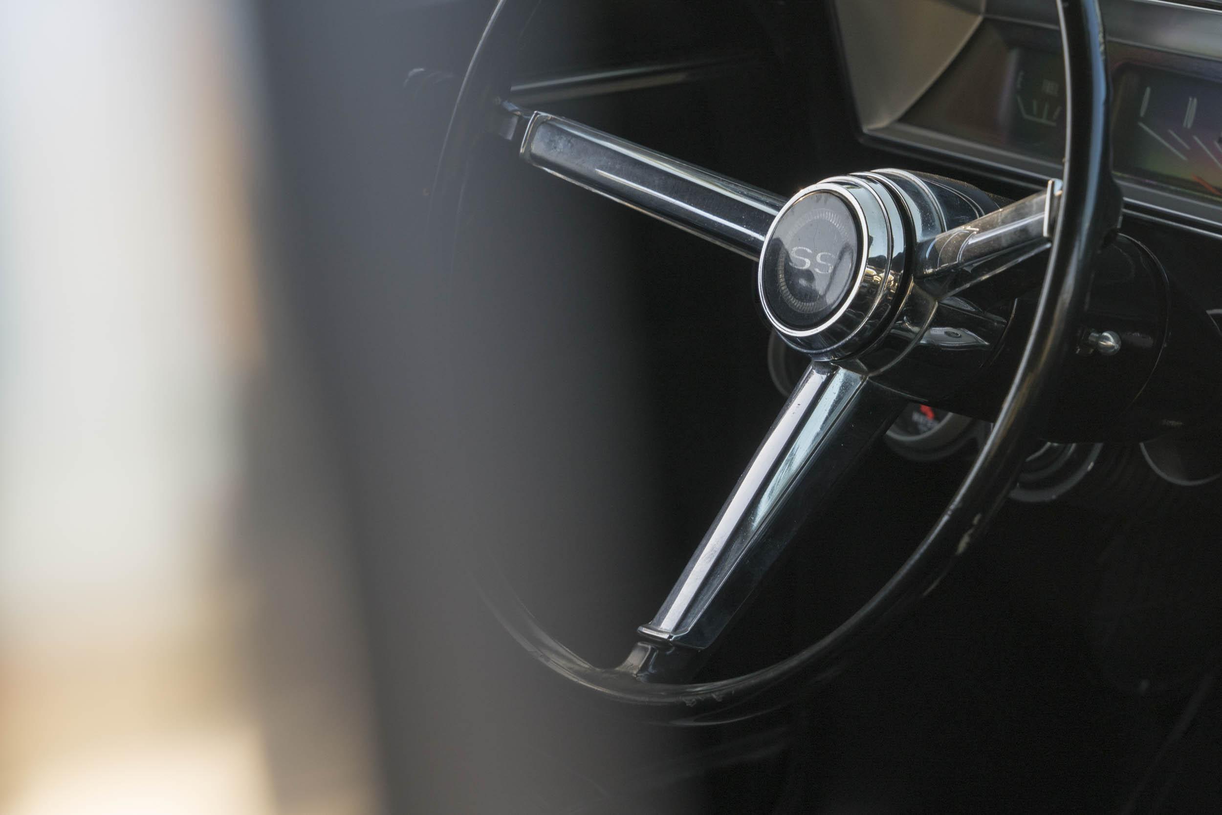 1967 Chevrolet Nova SS steering wheel
