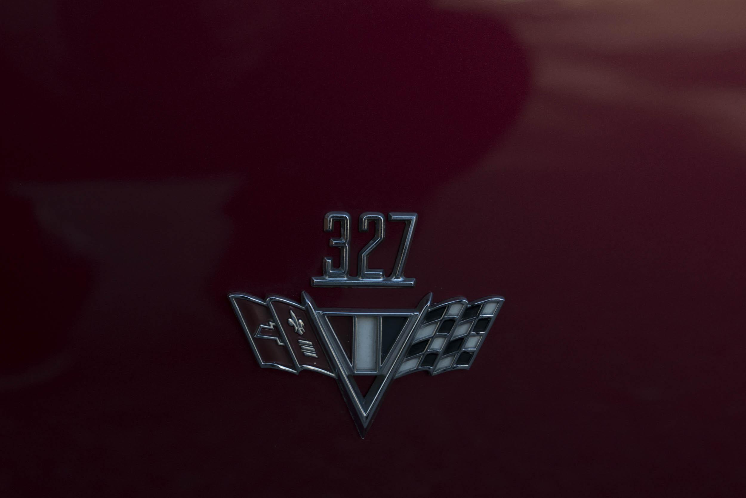 1967 Chevrolet Nova SS 327 badge