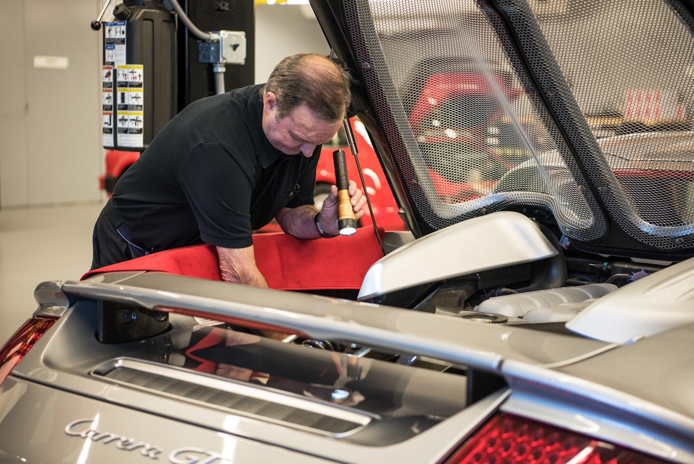 Porsche Classic carerra gt engine