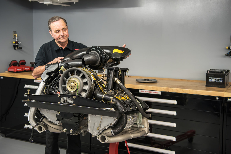 Porsche Classic 911 engine