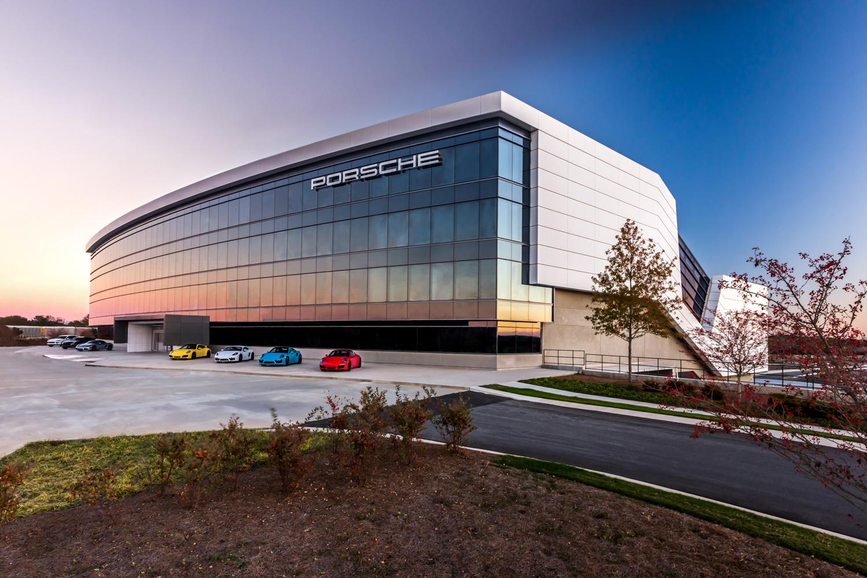 Porsche Classic building photo