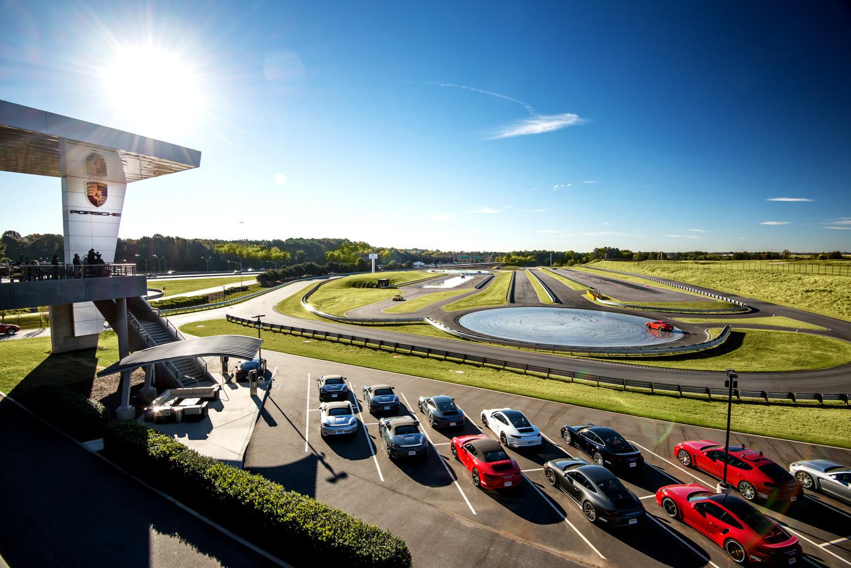 Porsche Classic experience center track
