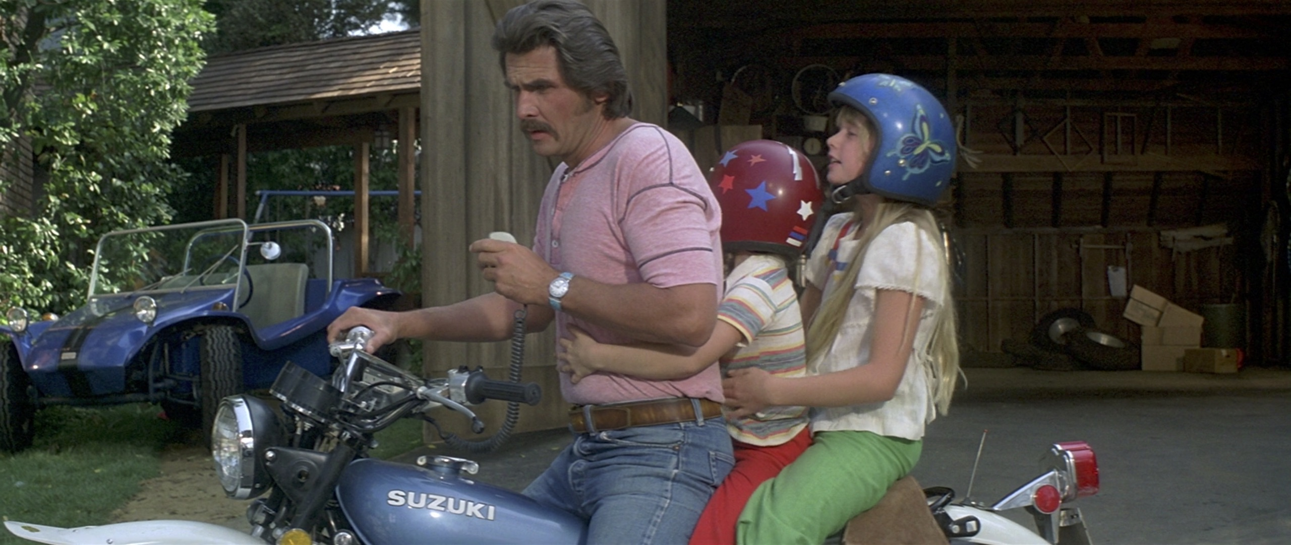 The Car James Brolin with kids