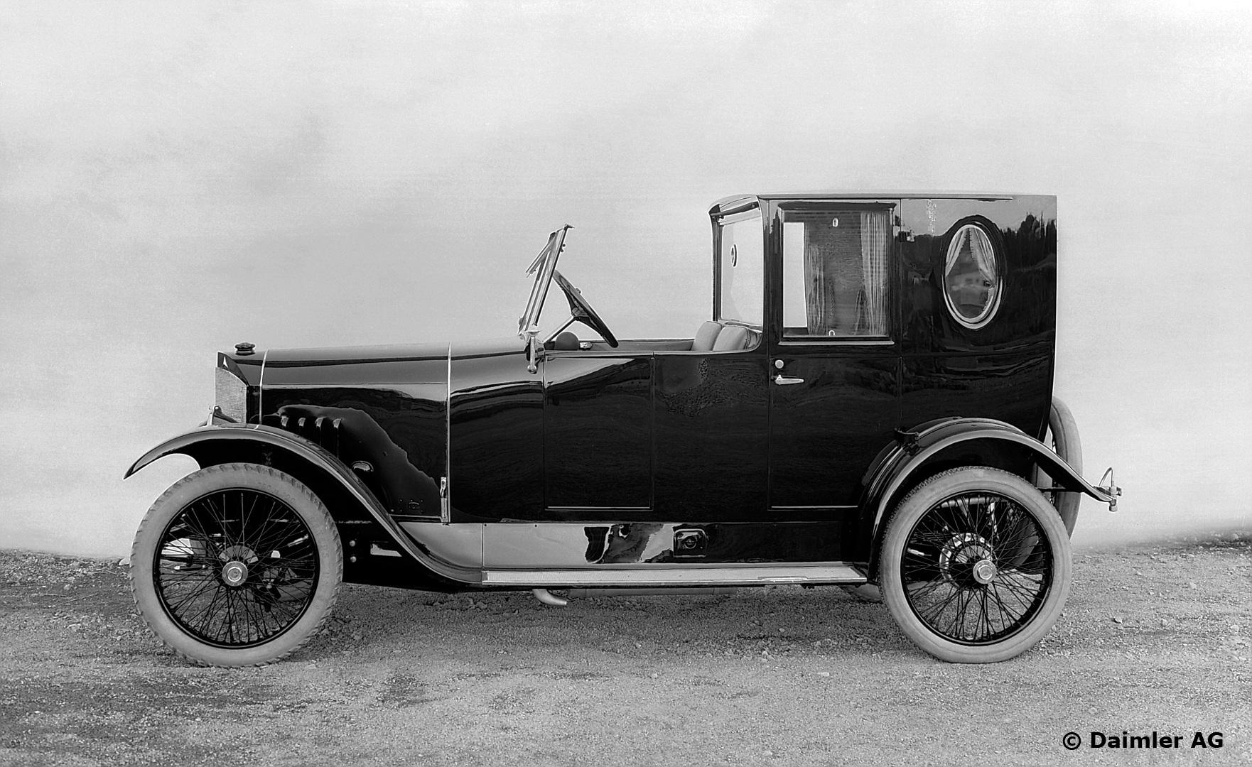 1921 Mercedes 6/20 City Coupé
