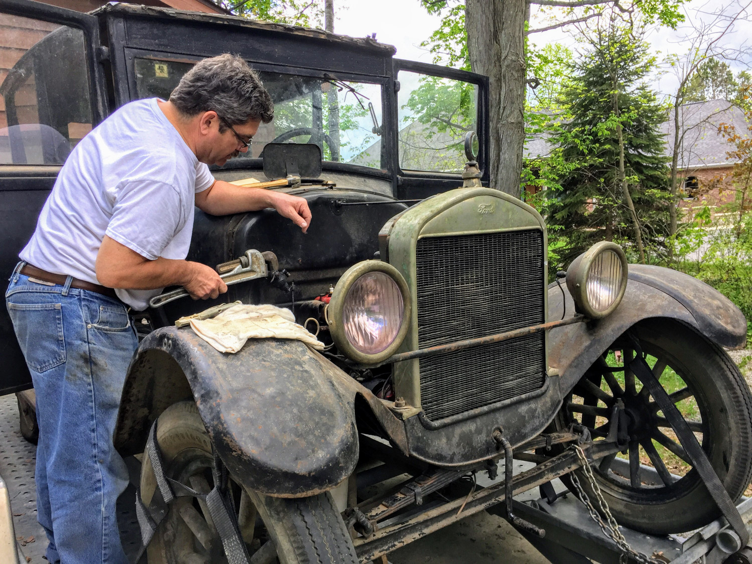 Ford Model T First Drive