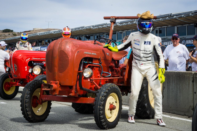 Porsche Rennsport Tractor race