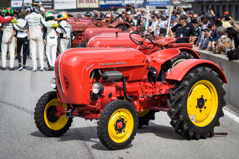 Porsche Rennsport Tractor race tractor lineup