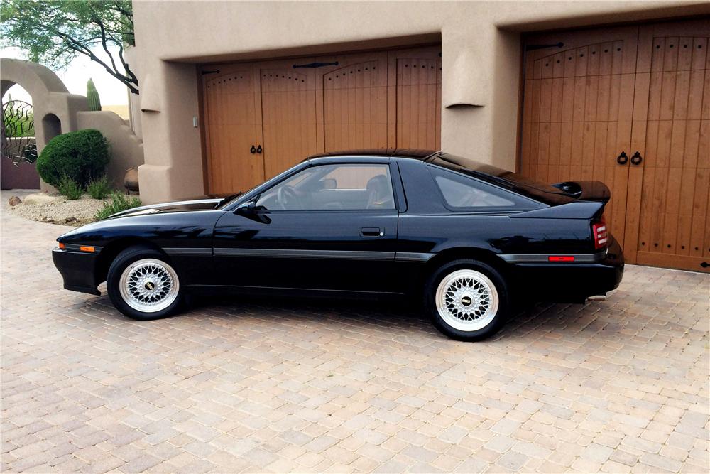 1990 Toyota Supra Turbo side profile