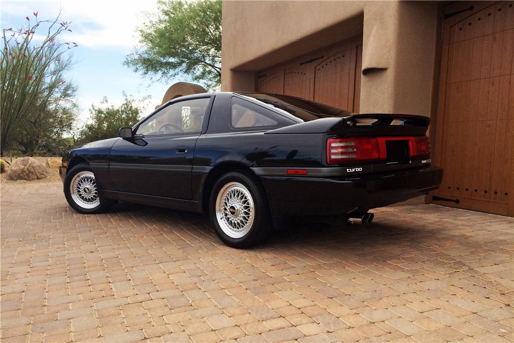 1990 Toyota Supra Turbo rear 3/4